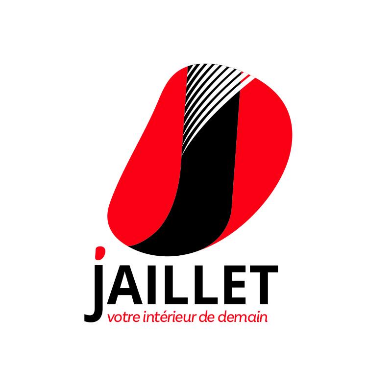 Création d'un nouveau logo pour l'entreprise de menuiserie Jaillet à Mâcon.
