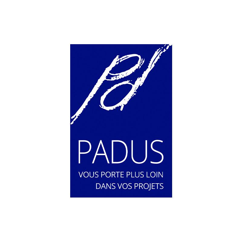 Création d'un logo pour l'entreprise Padus à Mâcon