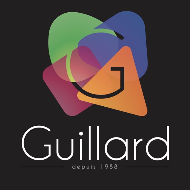 Création du Logo de l'entreprise de décoration Guillard par l'Agence Le P'tit Zèbre Communication à Mâcon