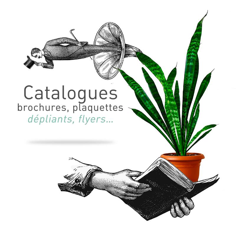 L'agence Le P'tit Zèbre Communication à Mâcon crée des catalogues, des brochures, des plaquettes, des dépliants et des flyers