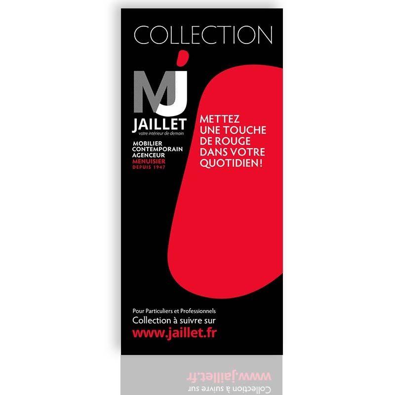 Réalisation d'un flyer publicitaire pour la menuiserie Jaillet à Mâcon