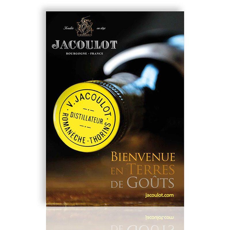 Réalisationd 'un poster grand format pour les liqueurs Jacoulot